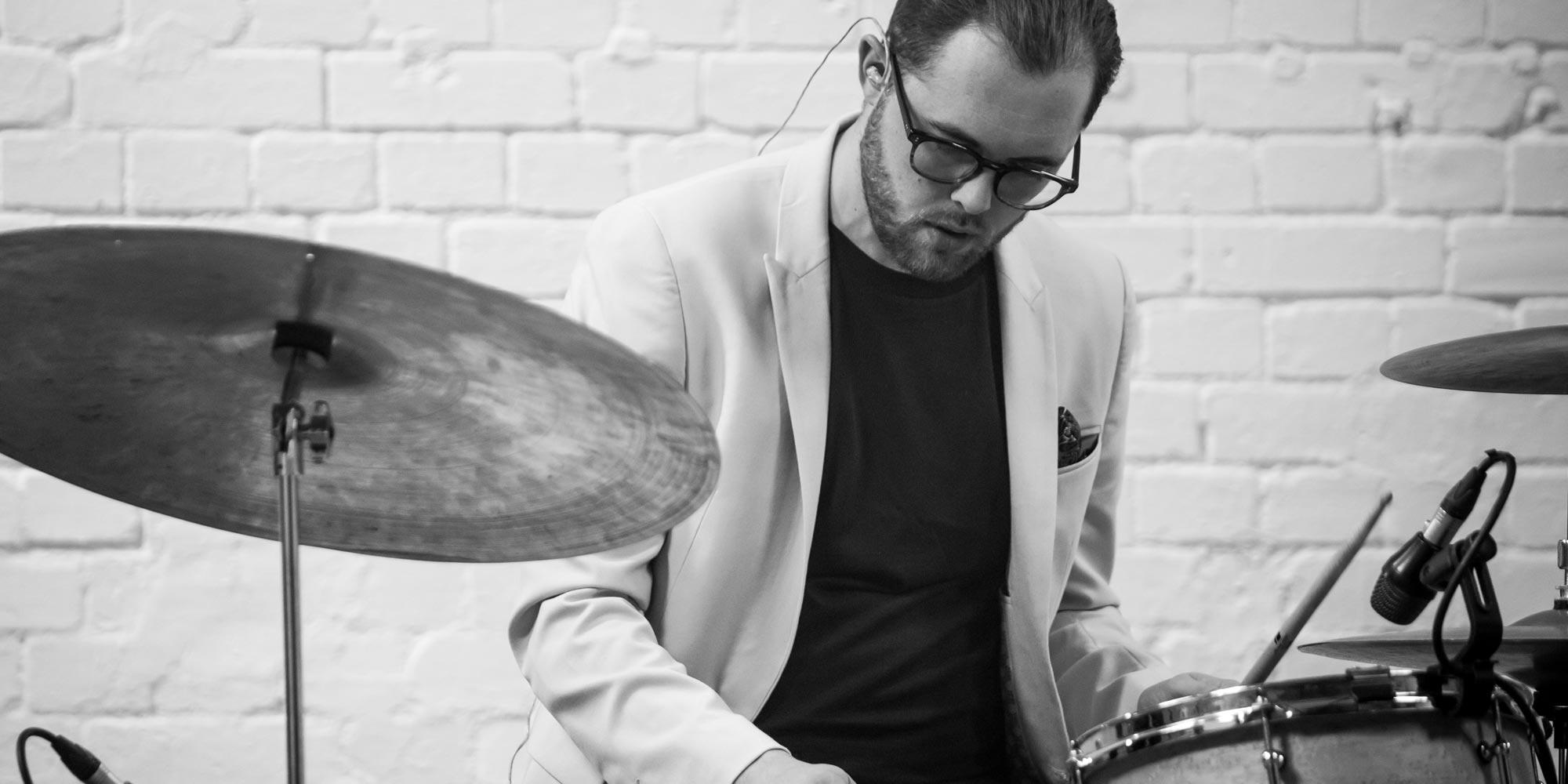 Wedding drummer london