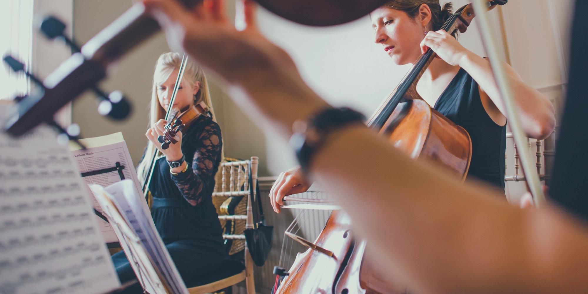 String quartet wedding bespoke london